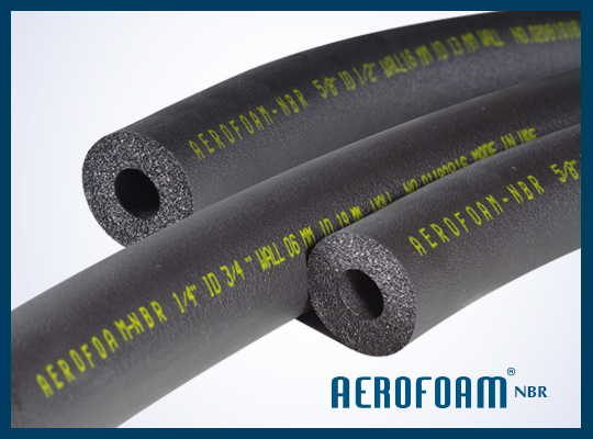 flexible elastomeric rubber insulation tubes